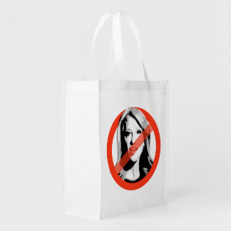 Anti-Conway - Anti- Kellyanne Conway Reusable Grocery Bags