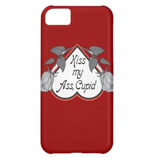 Anti Cupid Valentines Day Cover For iPhone 5C