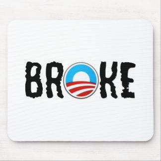 Anti debt anti Obama Mouse Pad