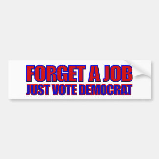 Anti-Democrat 2016 Elections Anti Hillary Bumper Sticker