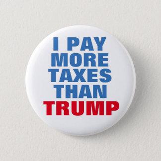Anti Donald Trump button