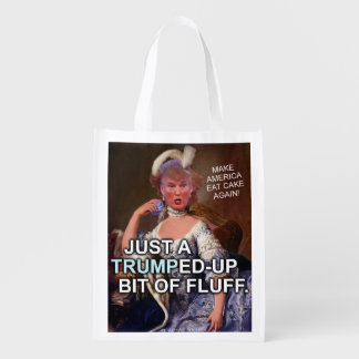 Anti Donald Trump Marie Antoinette 2016 Election Reusable Grocery Bags