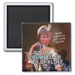 Anti Donald Trump Marie Antoinette 2016 Election Square Magnet