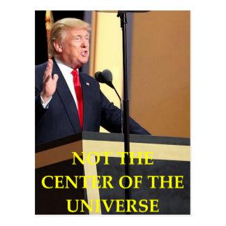 anti donald trump postcard