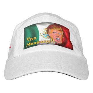 "Anti-Donald Trump ""Viva Mexico"" hat. Headsweats Hat"