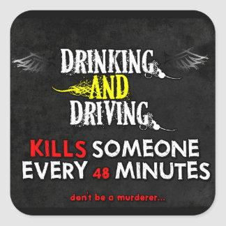 Anti-Drinking & Driving Stickers