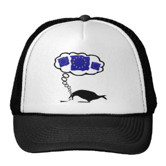 Anti EU pro UK pro UKIP,the EU makes me puke Mesh Hat
