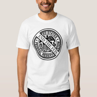 Anti Federal Reserve Logo with Famous Quotes 2 Tshirt