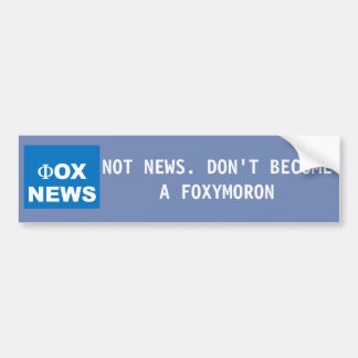 Anti Fox News Sticker