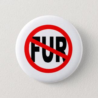 Anti Fur Design 2 Inch Round Button