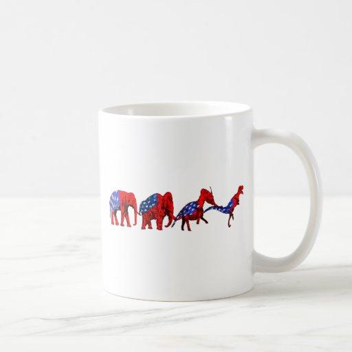 Anti-GOP Anti-Republican Evolution Satire Mugs