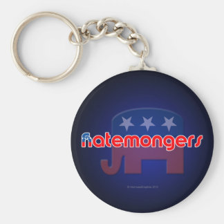 Anti-GOP Hatemongers Keychain