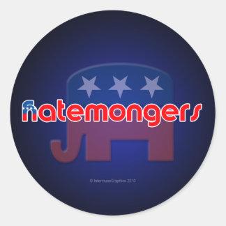 Anti-GOP Hatemongers Stickers