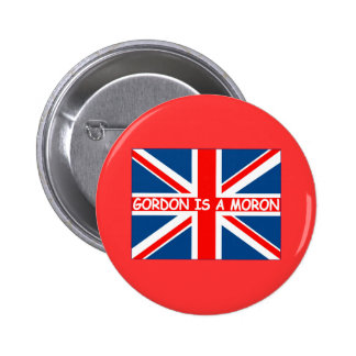 Anti Gordon Brown anti Labour Pinback Buttons