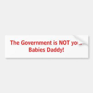 Anti Government Bumper Stickers