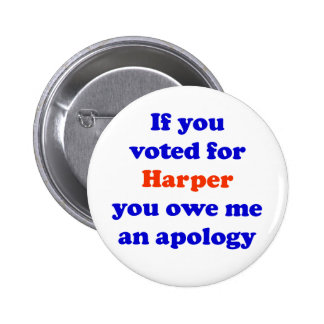 Anti-Harper Button