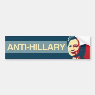 Anti-Hillary - Anti-Hillary Propaganda - -  Bumper Sticker