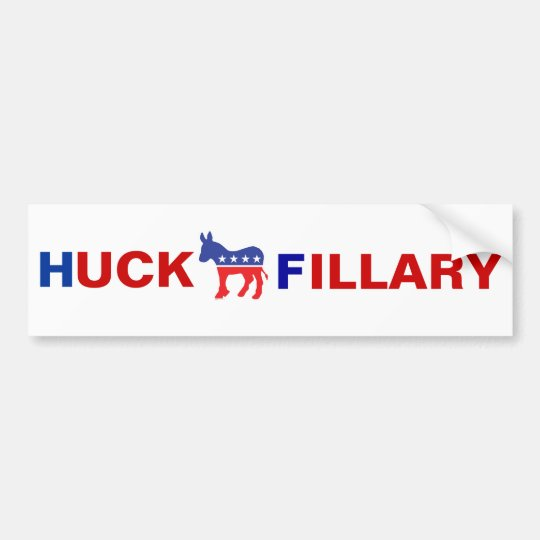 Anti Hillary Clinton Bumper Sticker
