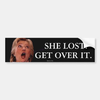 Anti-Hillary Clinton Bumper Sticker
