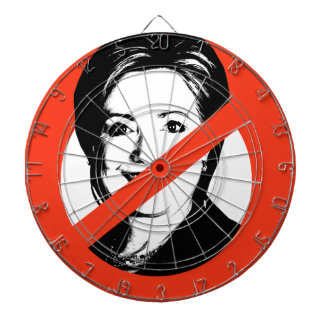 ANTI-HILLARY CLINTON DARTBOARD