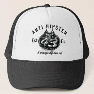 ANTI HIPSTER Trucker Hat