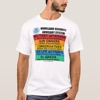 Anti Homeland Security T-Shirts