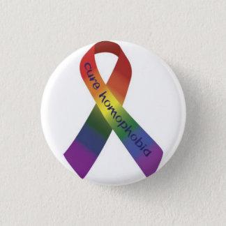 anti homofobia 1 inch round button
