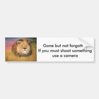 anti-hunting bunper sticker