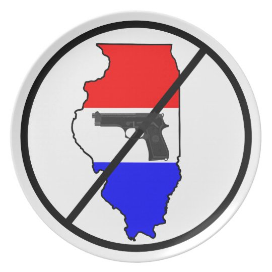 Anti-Illinois Gun Plate