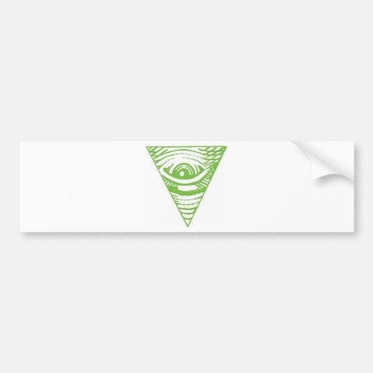 Anti-Illuminati Bumper Sticker