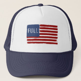 Anti-Immigration Slogan - American Flag Cap