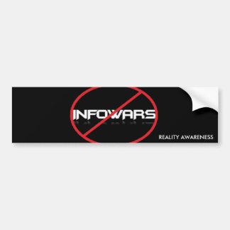 Anti-Infowars Bumper Sticker