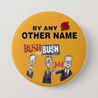 Anti-Jeb Bush 2016 3 Inch Round Button