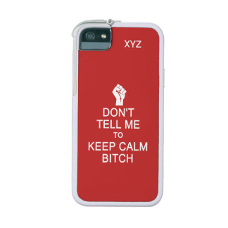 Anti - Keep Calm custom cases Case For iPhone 5