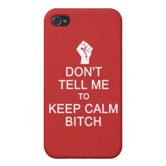 Anti - Keep Calm custom cases iPhone 4 Cases