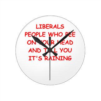 anti liberal wallclock