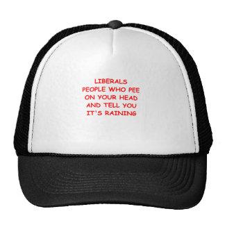 anti liberal trucker hats