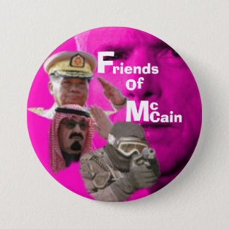 Anti-McCain Button... 3 Inch Round Button