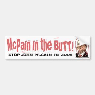 Anti-McCain Circle Bumper Sticker