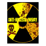 ANTI-NUCLEAR ENERGY PROTEST POST CARD