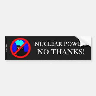 Anti-Nuclear Power Bumper Sticker