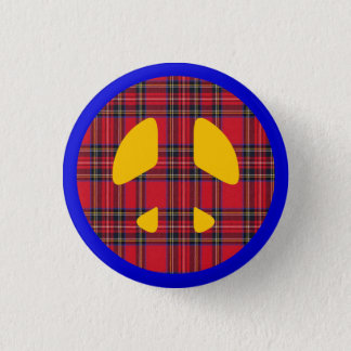 Anti Nuclear Scottish Independence Badge 1 Inch Round Button