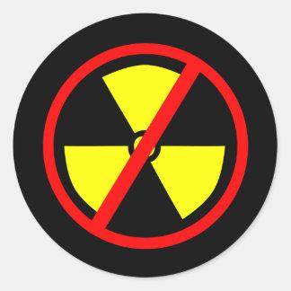 Anti-Nuclear Symbol Sticker