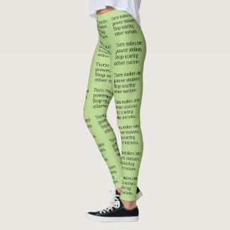 Anti-Nukes leggings