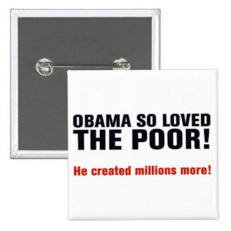 Anti Obama 2 Inch Square Button