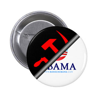Anti Obama - Anti Socialist 2 Inch Round Button