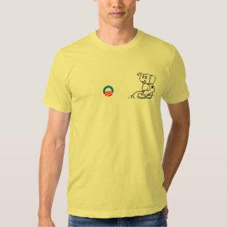 Anti-Obama - Baroke Bumpersticker T Shirt