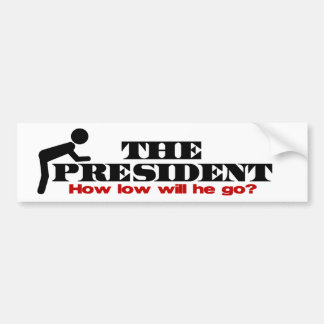 Anti Obama Bow Bumper Sticker