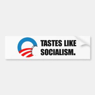 Anti-Obama Bumpersticker - les goûts aiment le soc Autocollant De Voiture