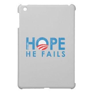 ANTI-OBAMA - HOPE HE FAILS- Faded.png Case For The iPad Mini